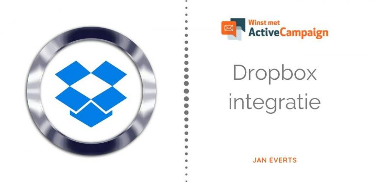 ActiveCampaign dropbox integratie